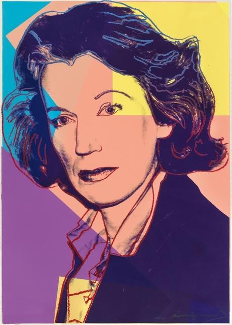 , 'Mildred Scheel,' 1980, Galerie Ostendorff