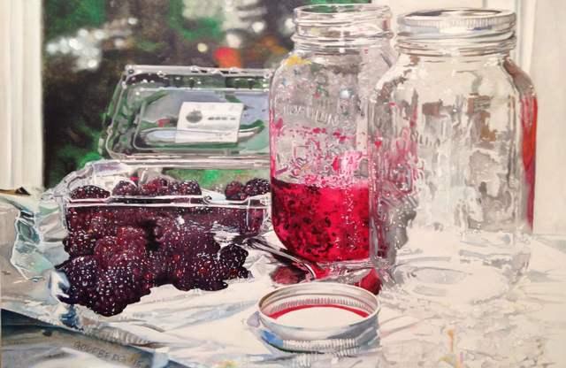 , 'Blackberry Jam,' 2015, Winsor Gallery