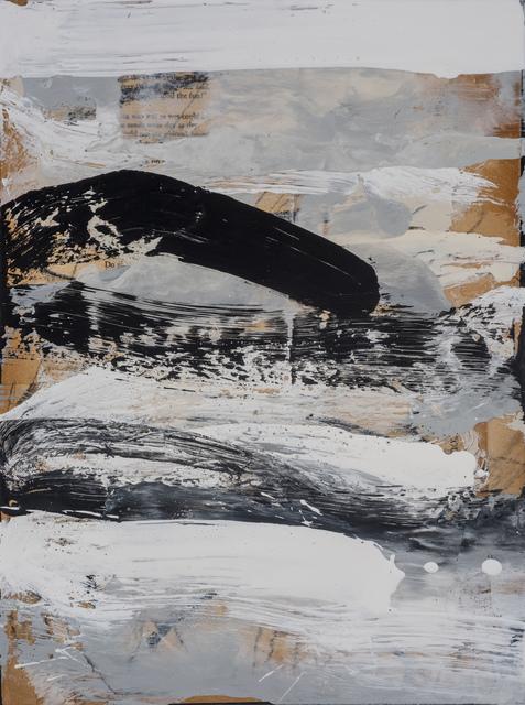 , 'Black and White Study #1,' 2019, M.A. Doran Gallery