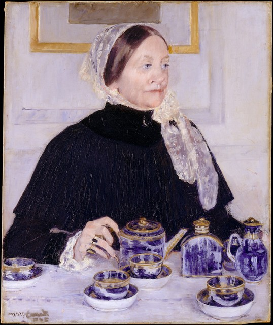 Mary Cassatt, 'Lady at the Tea Table', 1883–1885, The Metropolitan Museum of Art