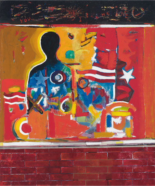 , 'Ghetto Wall #2,' 1970, DC Moore Gallery