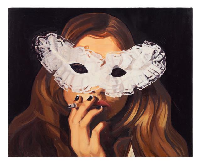 , 'Flicka med mask,' 2014, Andréhn-Schiptjenko