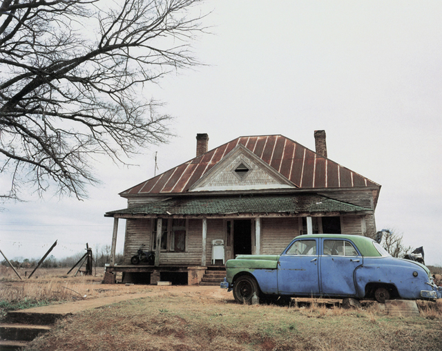William Christenberry, 'House and Car, near Akron, Alabama', 1981, Pace/MacGill Gallery