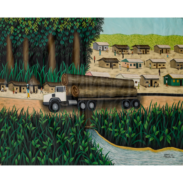 Dieudonné Sana Wambeti, 'La ressource, Bangui', 2010, PIASA