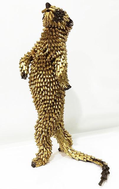 , 'Meerkat walking,' 2017, LGM Arte Internacional
