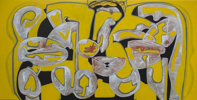 , 'SuspirGroc (Yellow Sigh),' 2016, Matthew Liu Fine Arts