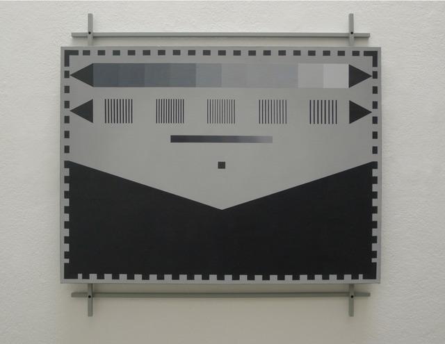 Beltrán Obregón, 'Pintura calibradora 4', 2009, Instituto de Visión