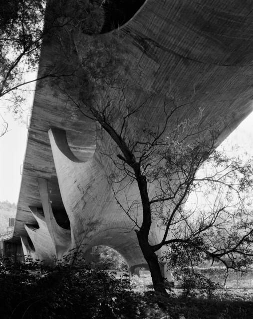 , ''Basento Bridge - Potenza - D' Architecture by Sergio Musmeci,' 2015, ammann//gallery