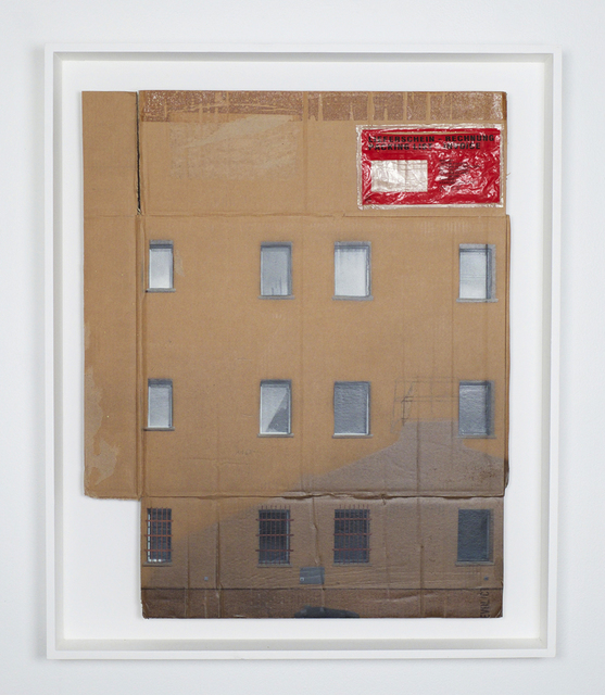 , 'Low Reflection Area,' 2014, Jonathan LeVine Projects