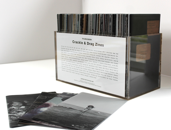 , 'Crackle & Drag zines box set,' , Harlan Levey Projects