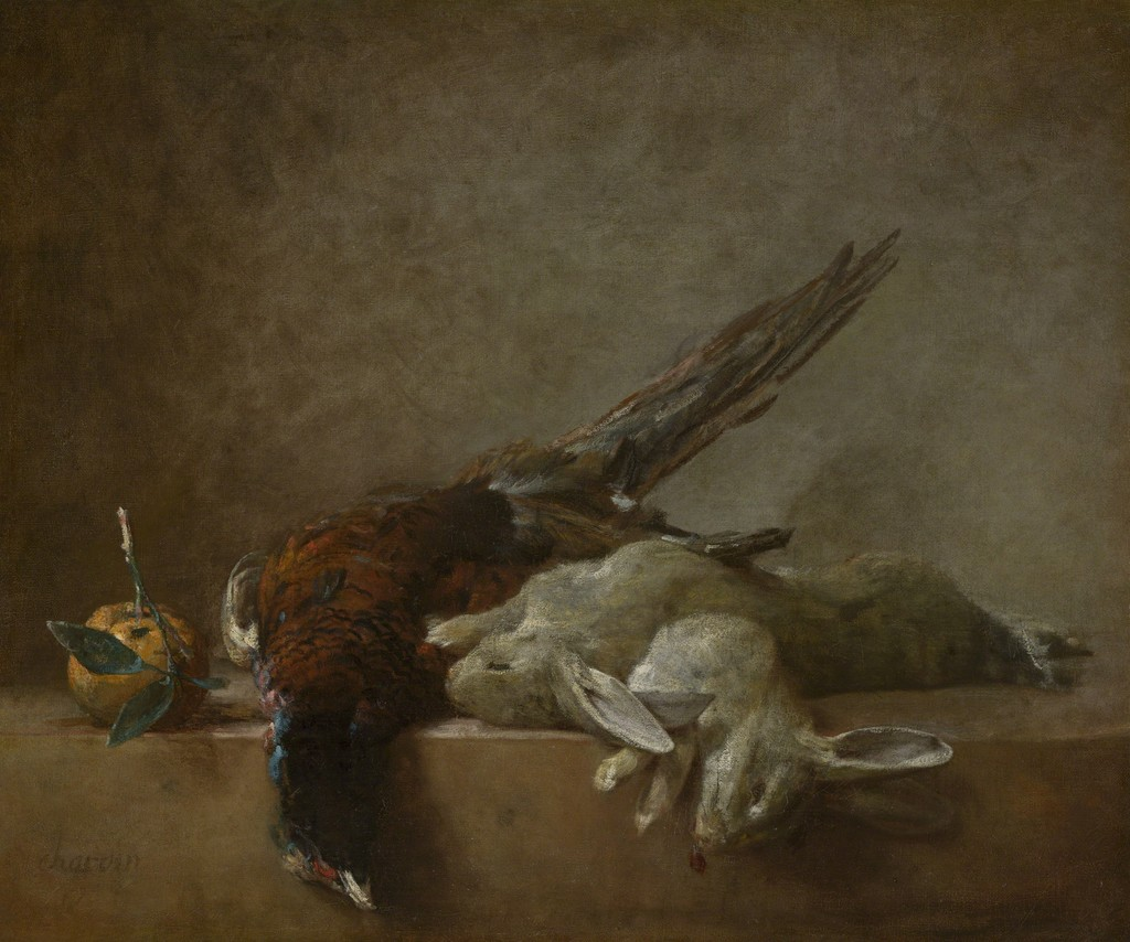 Still Life With Game (Probably 1750s