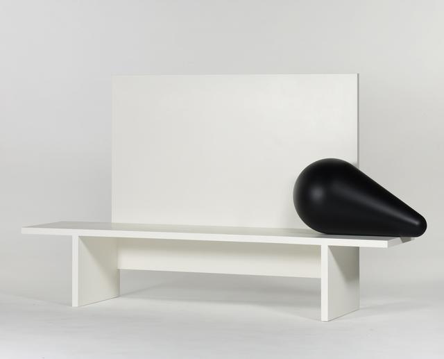 ", '""IGNOTUS NOMEN"" BENCH,' 2011, Galerie kreo"
