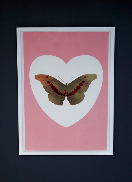 Damien Hirst, 'Butterfly, Pink/Gold', 2015, Arton Contemporary