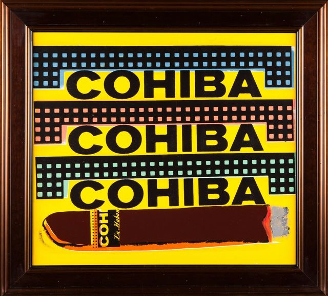 Steve Kaufman, 'Cohiba Cigar', 1997, Modern Artifact