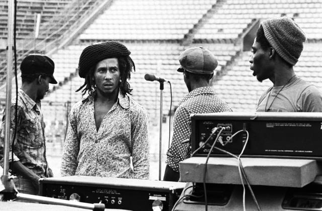 , 'Bob Marley Dream Concert Rehearsal,' 1975, KM Fine Arts