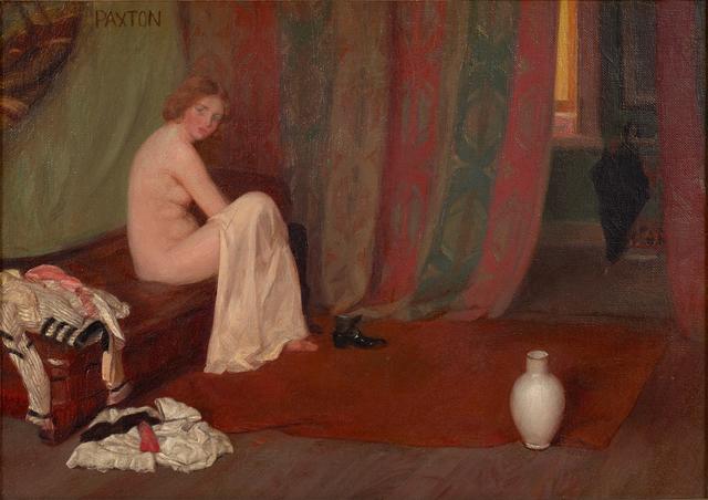 , 'Model in the Artist's Studio,' , Debra Force Fine Art