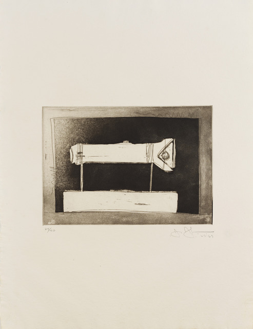 , 'Flashlight (large) From: '1st Etchings, 2nd State',' 1969, Sims Reed Gallery