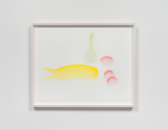 , 'Still Life with Salmon, Wine, Lemons (Smell),' 2013, Rhona Hoffman Gallery