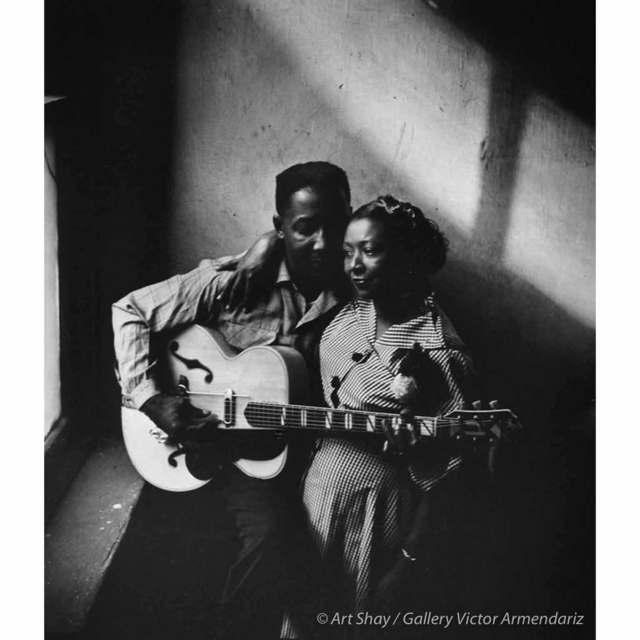 , 'Muddy Waters & Wife Geneva, 1951,' 2017, Gallery Victor Armendariz