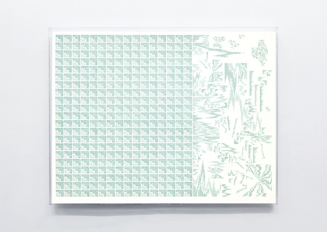 Jose Vera Matos, 'A World in Relation', 2020, Drawing, Collage or other Work on Paper, Handwritten transcription of Édouard Glissant ́s Poetics of Relation Stylograph on bamboo paper, Galerie Nordenhake