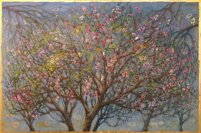 , 'Three Almond Trees, Full Blossoming,' 2017, Galerie d'Orsay