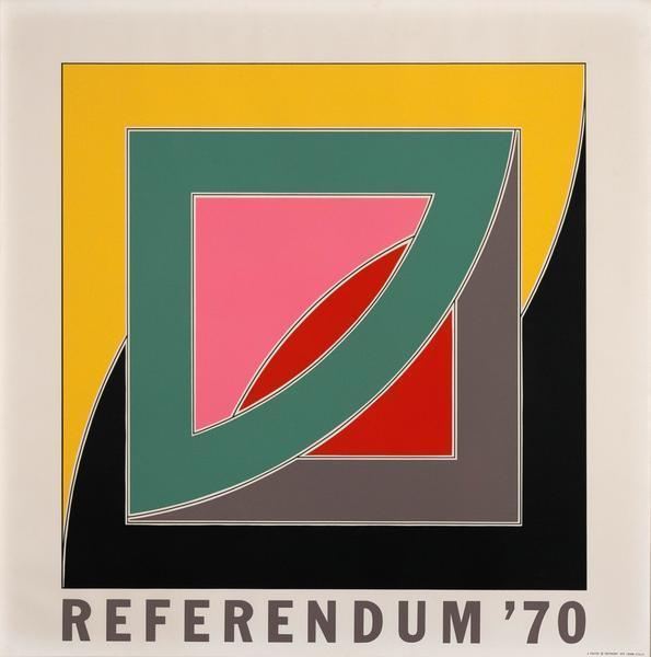 Frank Stella, 'Referendum 70', 1970, Caviar20