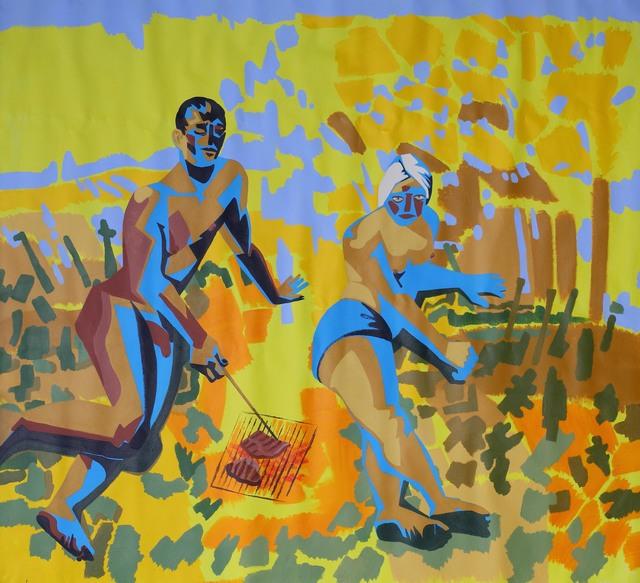 Alexandru Rădvan, 'May we live in interesting times, acrylic on canvas, 210 x 230cm, 2019', 2019, Anaid Art