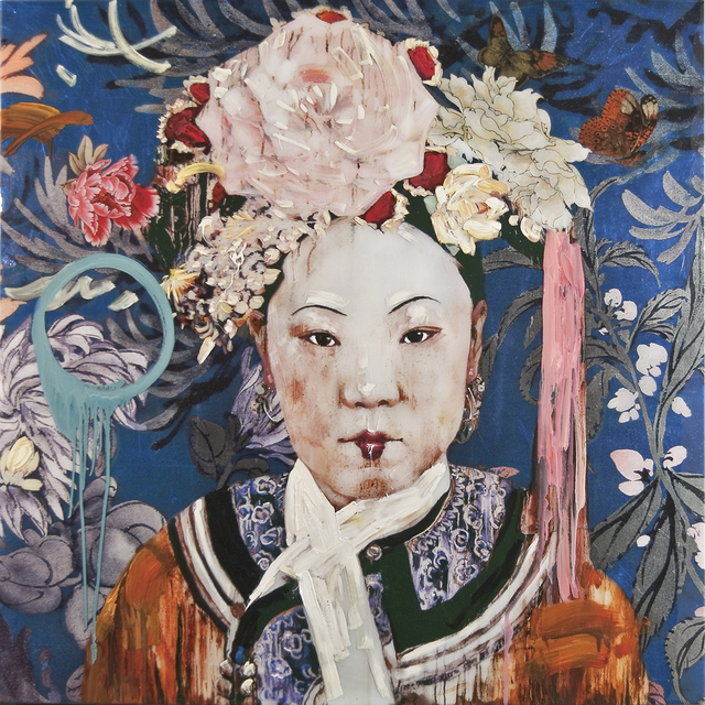 , 'Manchu Lady with Cherry Lips,' 2011, Turner Carroll Gallery