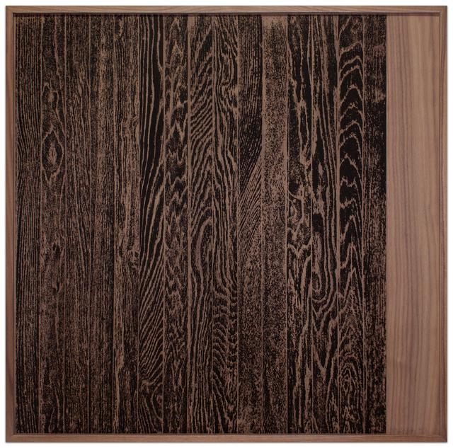Analia Saban, 'Wooden Floor on Wood (Vertical)', 2017, Krakow Witkin Gallery