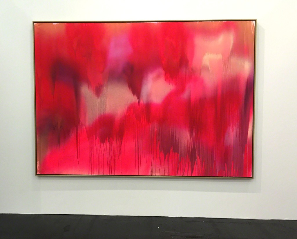 Katharina Grosse at booth CONRADS Art Cologne 2015