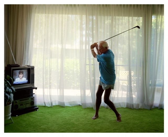 , 'Practising Golf Swing,' 1986, S.M.A.K. Museum of Contemporary Art