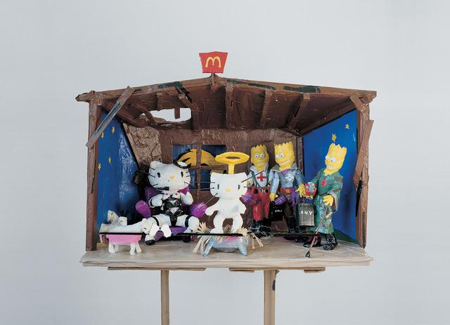 Tom Sachs, 'Hello Kitty Nativity', 1994, Gagosian