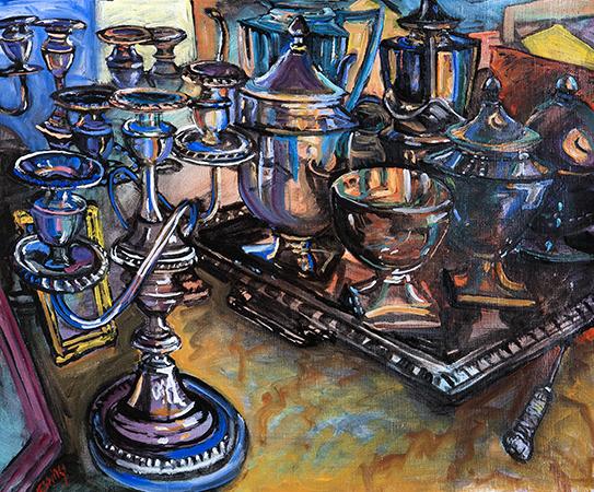 , 'Silver,' , Pucker Gallery