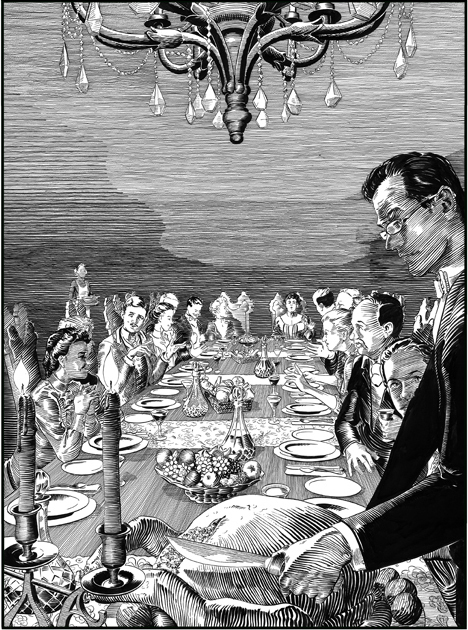Robert Berry, 'The Dead III', 2014, Print, Letterpress, Stoney Road Press
