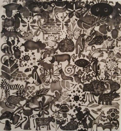, 'Animal Behavior 1,' 2016-2017, Ro2 Art