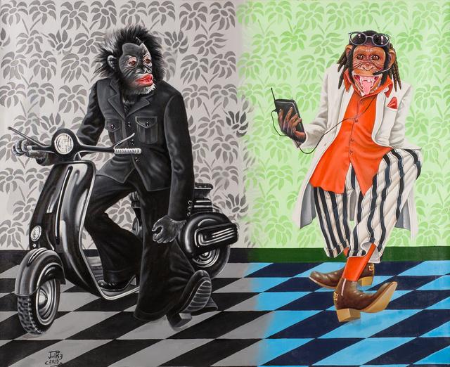 , 'Deux temps, deux mondes,' 2015, Africa Bomoko