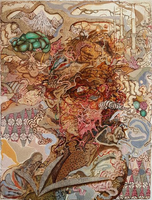 Radu Oreian, 'Selfportrait as Saint Macarius', 2019, Gallery Nosco