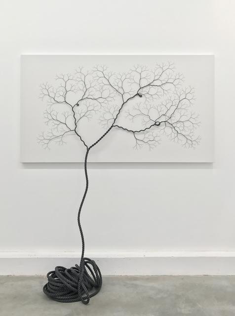 , 'Ciclotrama 84 (impregnation),' 2017, Zipper Galeria