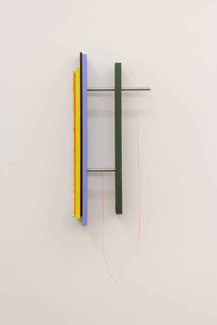 , 'Painted Angles (Broken Line),' 2017, BERG Contemporary