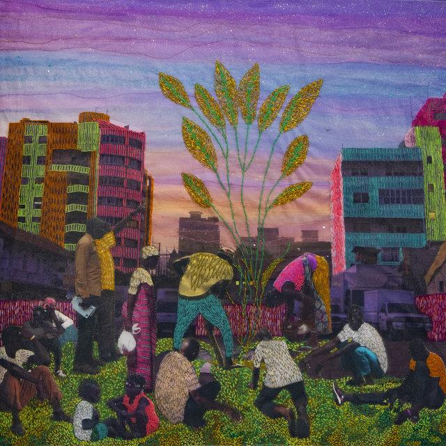 , 'BECAUSE WE BELONG TO THIS DREAM, Series Alba'hian,' 2020, Gallery 1957