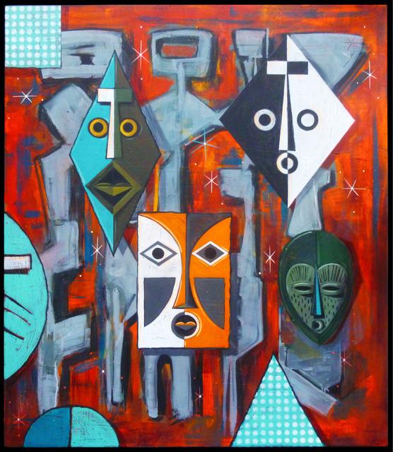 , 'Maskatron,' 2017, StolenSpace Gallery