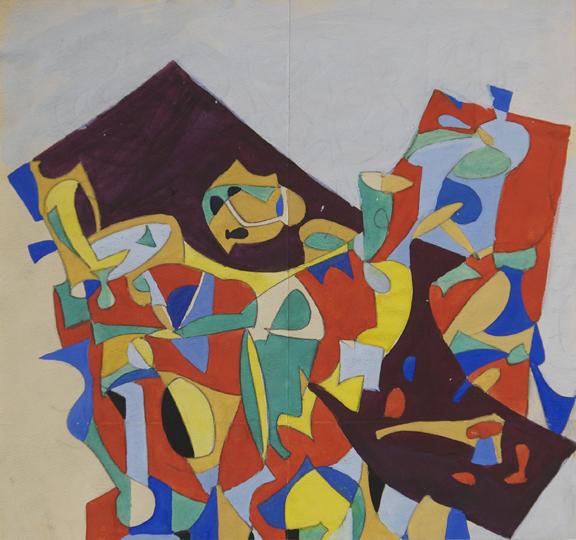 Jan Matulka, 'Abstract Configurations', ca. 1930, McCormick Gallery
