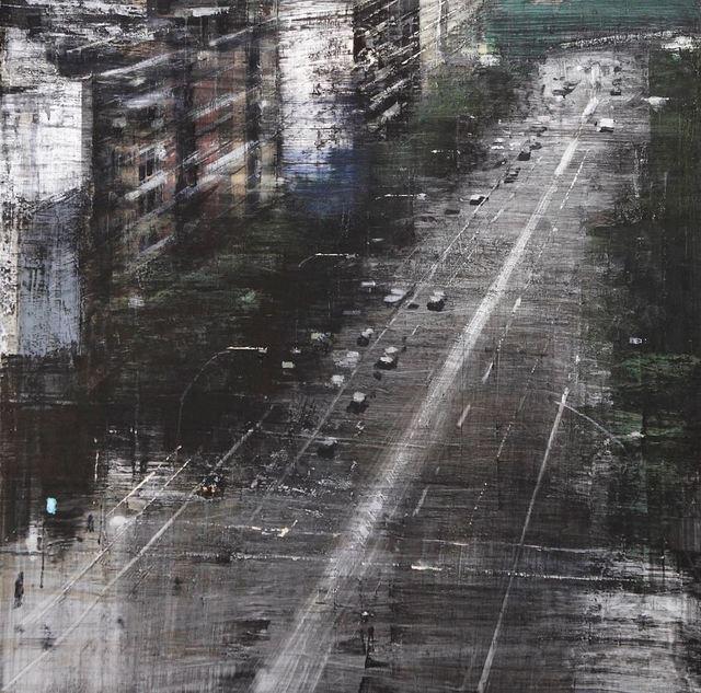 , 'Una calle de Barcelona,' 2016, Sala Parés - Galería Trama