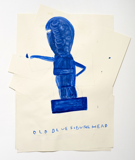 , 'Old Blue Figurehead,' 2015, Christian Larsen