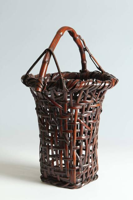 , 'Bamboo Ikebana Basket (T-3883),' ca. 1910, Erik Thomsen