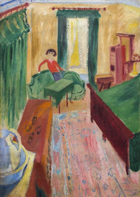 , 'Interiör - Ivan i gröna soffan,' 1915, CFHILL