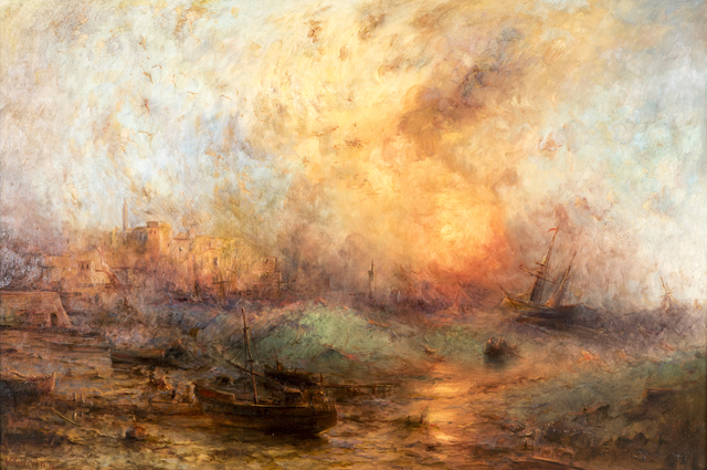 , 'Fiery Sea,' 2016, Ararat Gallery