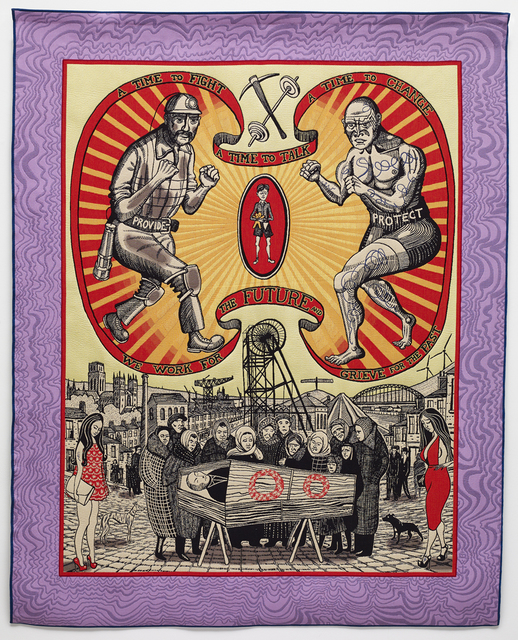 , 'Death of a Working Hero,' 2016, Osborne Samuel