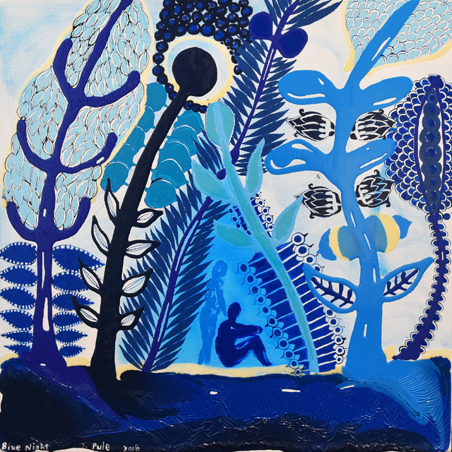 , 'Blue Night,' 2018, Gow Langsford Gallery
