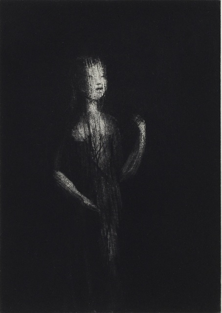 Deborah Bell, 'Aware of being aware', 2017, Print, Drypoint and aquatint etching, David Krut Projects
